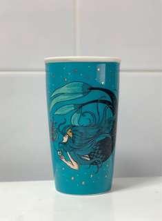 Starbucks Mug 12oz Swimming Siren ( Without Lid )