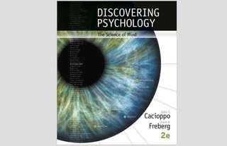 Discovering Psychology hku PSYC1001 ebook