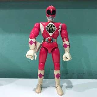 """Vintage Power Rangers Pink 8"""""""