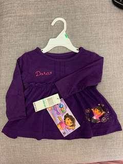 Dora baby girl long sleeve top -  bb女長䄂衫