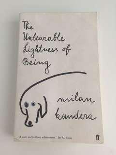 🚚 The Unbearable Lightness of Being, Milan Kundera