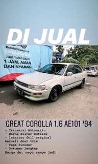 Great Corolla 1.6