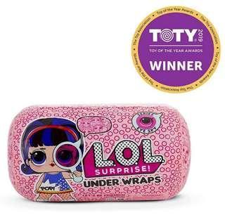 *In Stock* BN Authentic L.O.L. Surprise Under Wraps Doll - Series Eye Spy 1A LOL Underwraps