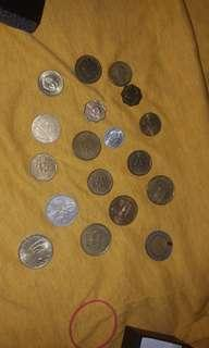 Old coin currency