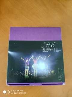 S.H.E. 愛而唯一演唱會(整套)