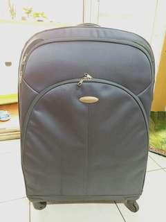 🚚 Samsonite 布質行李箱