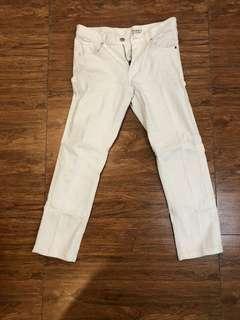 Uniqlo White Skinny Pants