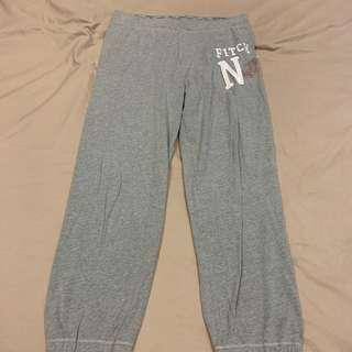 Abercrombie & Fitch grey jogger pants