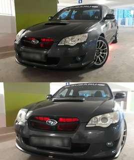Subaru legacy led installation