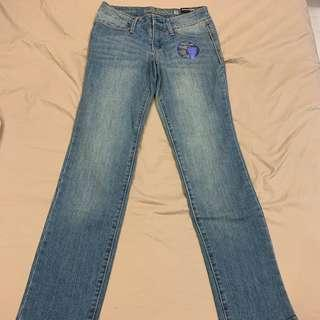 Blue comfy jeans
