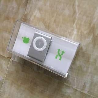 iPod shuffle silver colour