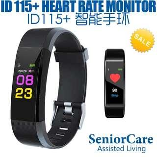 Bluetooth Smart Bracelet Sweat-Proof Heart Rate Monitor