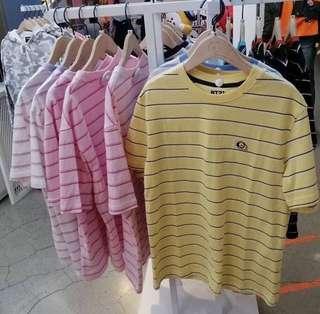 bts bt21 striped shirts
