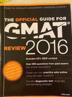 🚚 GMAT 2016