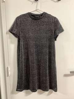 Minkpink Lurex Glitter Dress