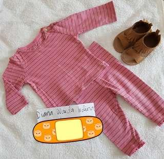 Mothercare long sleeves top and pants