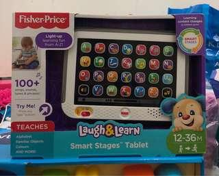 🚚 BN Fisher Price Laugh & Learn Smart Stages Tablet