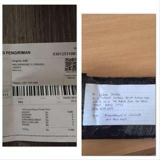 Thanks !!! Resi pengiriman