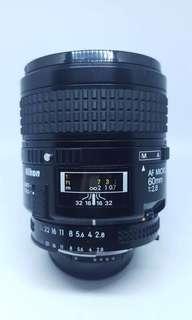 Nikon Nikkor 60mm f2.8 AF