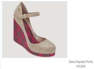 657b33b17a4b Zaxy Popstar Punk Flocked size US8