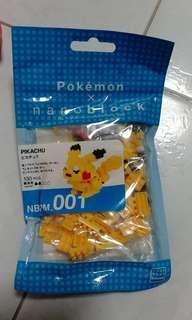 Pokemon Nanoblock -Pikachu nanoblock