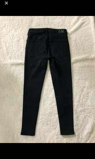 American Eagle Outfitters Black Highwaist Jeans