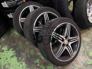 """Mercedes 18"""" AMG Original Rim"""