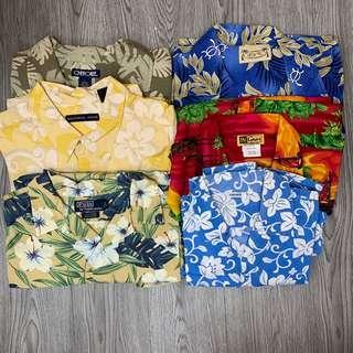 美華氏 夏威夷恤衫