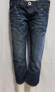 SALAD 3/4 Ladies' Pants Size 28 on tag