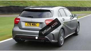Mercedes A250 Diffuser