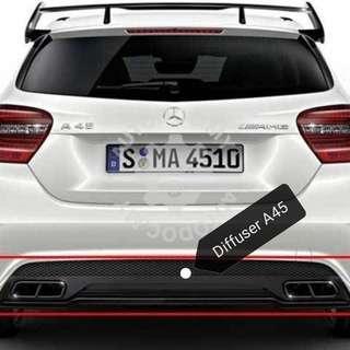 Mercedes A45 Diffuser