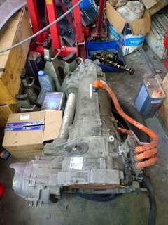 Audi A6 hybrid gear box