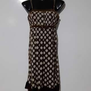 🚚 Polka Dot sleeveless  Dress