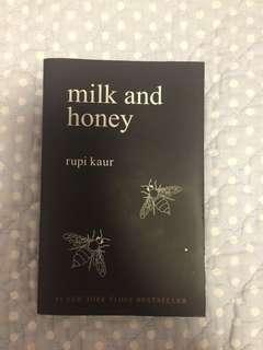 Milk and Honey book by Rupi Kaur