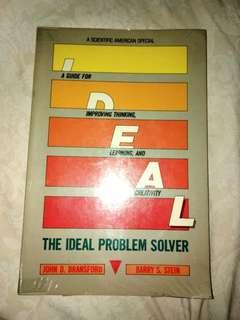 THE IDEAL PROBLEM SOLVER by John D. Bransford and Barry S. Stein