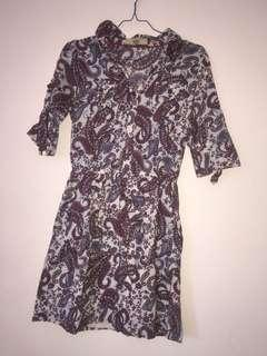 #maudompet bohemian dress