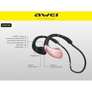 Headset Bluetooth Sport AWEI A885BL