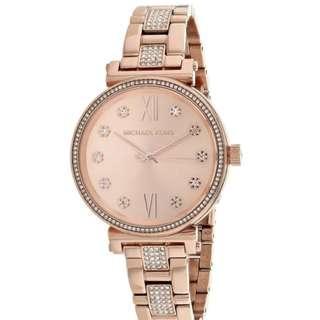 2fae5a72206e Michael Kors Women s Mini Sofie Rose Gold-Tone Watch