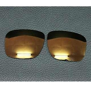 Lensa Oakley Holbrook Polarized bronze golden aftermarket