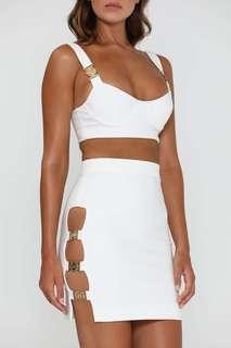 MESHKI skirt xs brand new