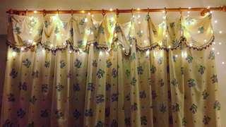 100燈 10米暖白銅線燈