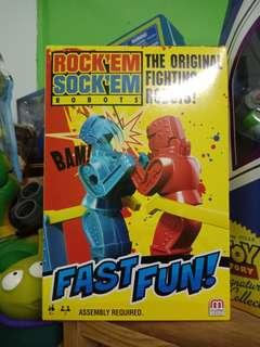 Toy Story Rock'em sock'em Robots