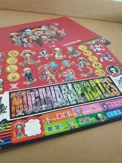OnePiece Mugiwara Pirates - Art Collection Seal