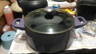 🚚 二手鐵氟龍鍋 附鍋蓋 便宜賣有使用痕跡能接受再下單