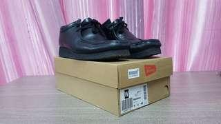 Used Clarks Black Leather Wallabee For Sale