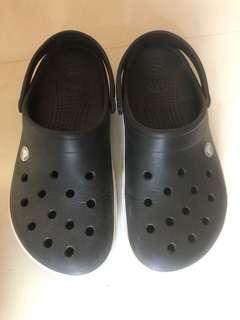 Crocs 深藍色膠涼鞋
