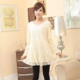 lace top.蕾絲top