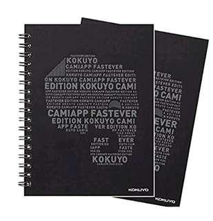 全新Kokuyo Evernote A6 notepad (CamiApp) 50 pages