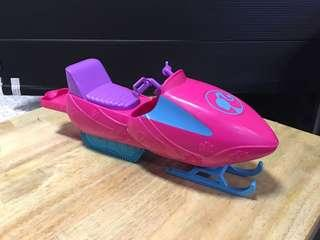 Barbie Jet ice ski