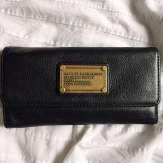 Marc by Marc Jacobs black leather trifold wallet *PRICE DROP*